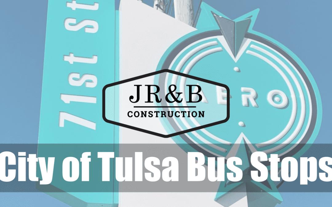 City of Tulsa Bus Stops