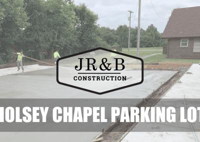 Holsey Chapel Parking Lot