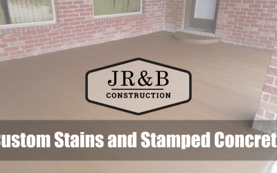 Custom Stains and Stamped Concrete