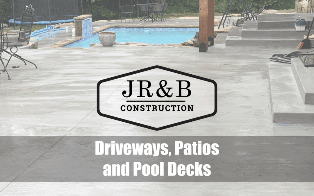 Driveways, Patios and Pool Decks