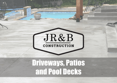 Driveways, Patios and Pool Decks